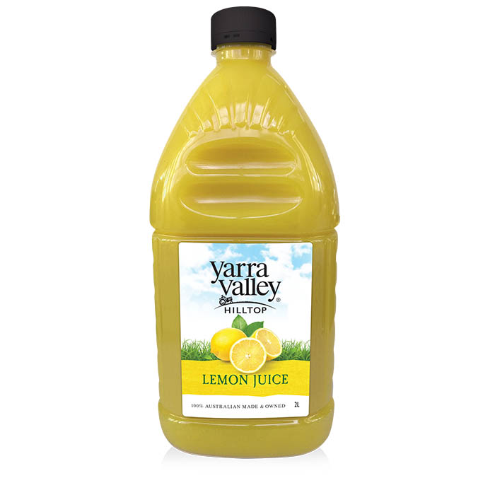 Yarra Valley Hilltop Lemon Juice 2L