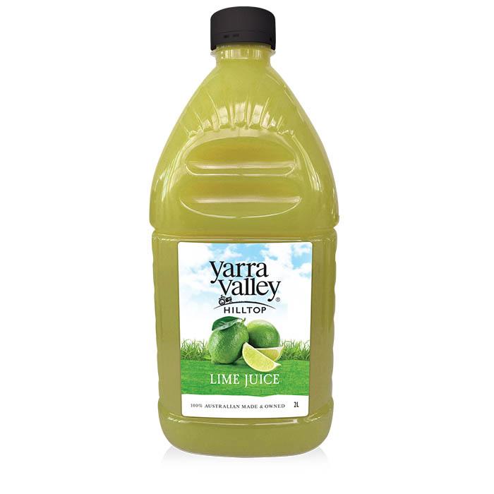 Yarra Valley Hilltop Lime Juice 2L