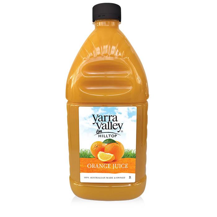 Yarra Valley Hilltop Orange Juice 2L