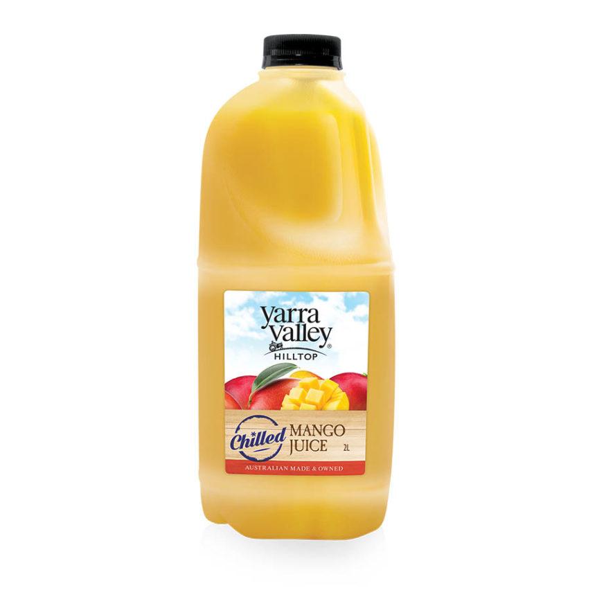 Yarra Valley Hilltop Mango Juice Chilled 2L