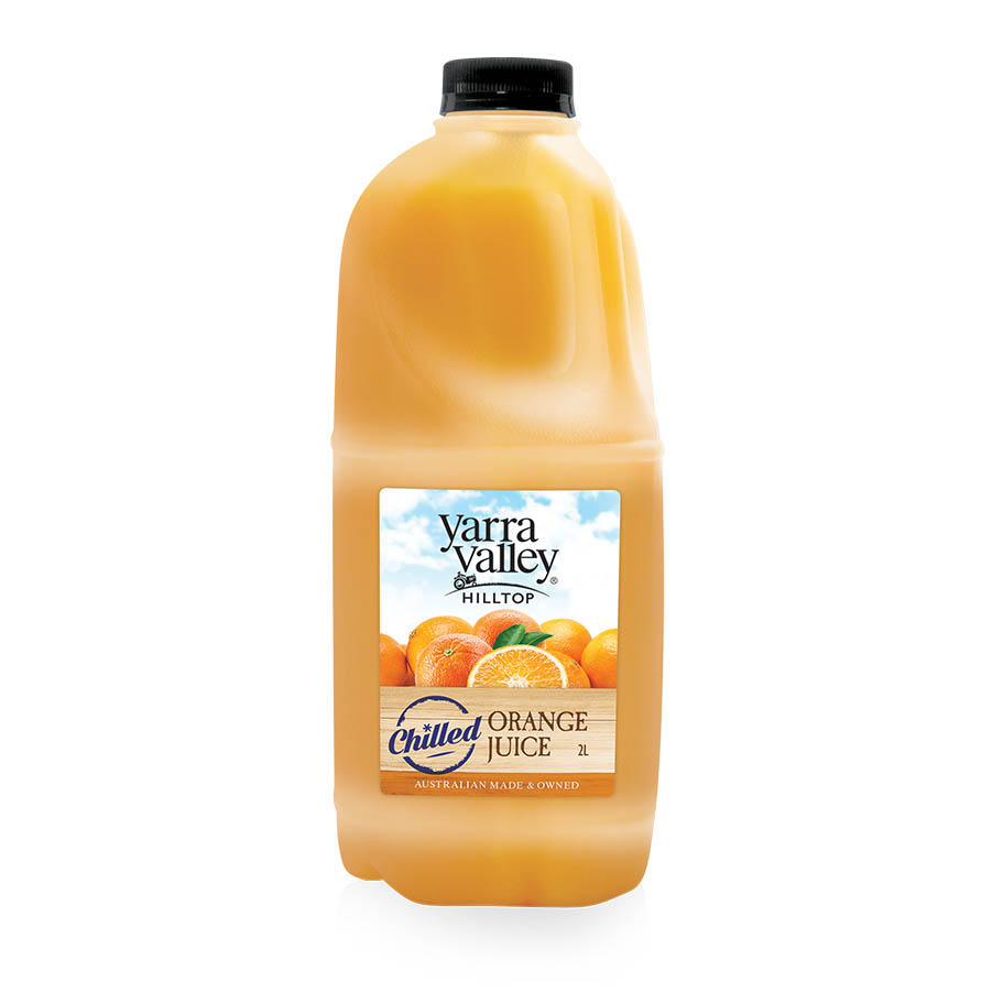 Yarra Valley Hilltop Orange Juice Chilled 2L