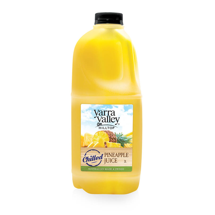 Yarra Valley Hilltop Pineapple Juice Chilled 2L