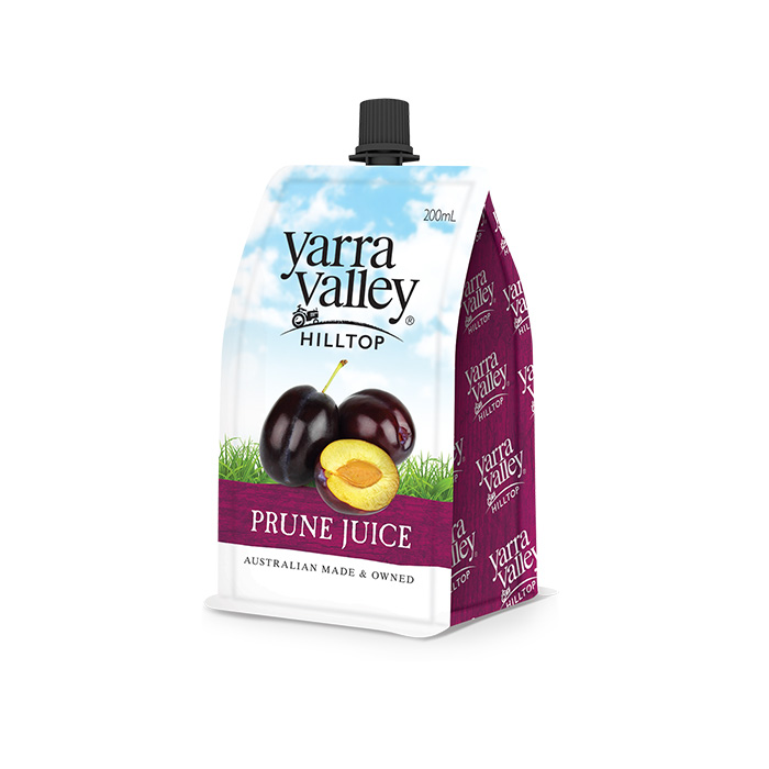 Yarra Valley Hilltop Prune Juice 200ml pouch