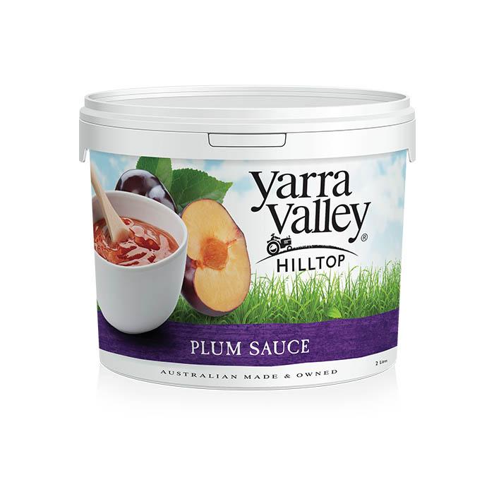 Yarra Valley Hilltop Plum Sauce 2L